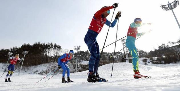 Казахстанские лыжники Волотка и Полторанин не смогли пробиться в финал командного спринта на Олимпиаде-2018