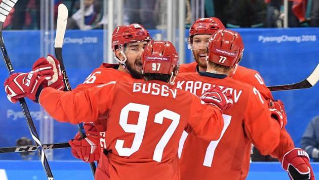 Сборная России по хоккею вышла в полуфинал Олимпиады-2018