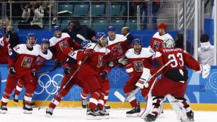 Российским телевизионщикам запретили снимать тренировку сборной Чехии по хоккею на ОИ-2018