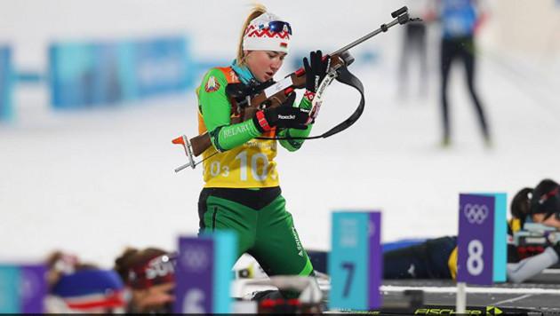 Первая олимпийская чемпионка-казашка Динара Алимбекова растерялась после победы в эстафете на Играх-2018