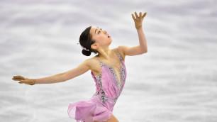 """""""Даже под волнением получилось"""". Турсынбаева прокомментировала свое выступление в произвольной программе Олимпиады"""