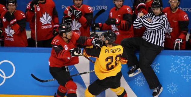 Сенсация от немцев. Видеообзор матча Германия - Канада в полуфинале Олимпиады-2018