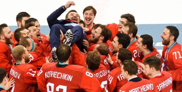 Подробный видеообзор хоккейного финала Олимпиады-2018 Россия - Германия