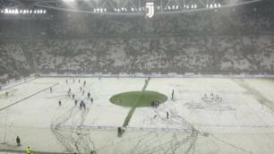 """Матч """"Ювентуса"""" в чемпионате Италии отменили из-за сильного снегопада"""