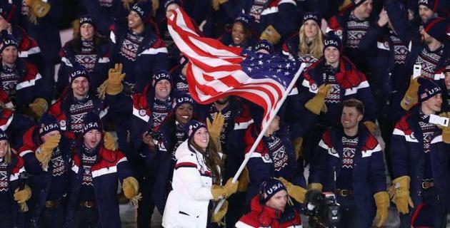 """The Washington Post рассказала о """"не оправдавшей надежд"""" с 23 медалями сборной США на Олимпиаде-2018"""