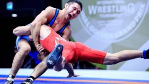 Казахстанец Кебиспаев в четвертый раз в карьере вышел в финал чемпионата Азии по борьбе
