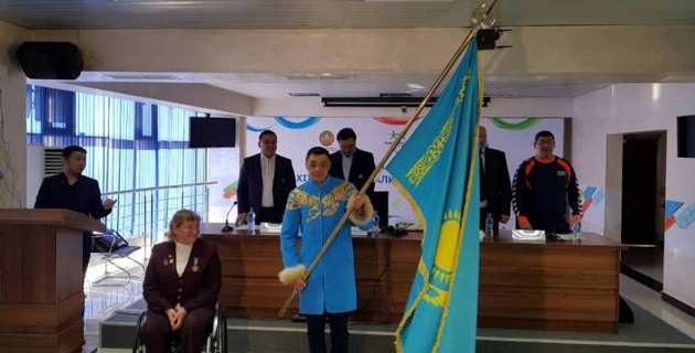 Определился знаменосец Казахстана на зимней Паралимпиаде в Пхенчхане