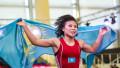 Казахстанка Эшимова в седьмой раз в карьере выиграла медаль чемпионата Азии по борьбе