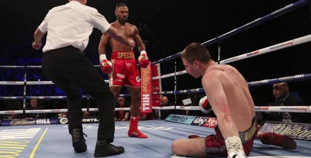 Видео боя, или как Брук за два раунда нокаутировал соперника и завоевал первый титул в весе Ислама