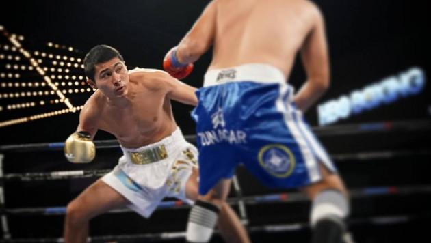 Казахстанский средневес одержал досрочную победу в андеркарте вечера бокса Ковалева