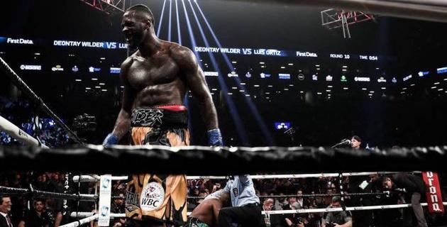 Чемпион WBC в супертяжелом весе Деонтей Уайлдер нокаутировал Луиса Ортиса