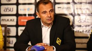 """Тренер """"Кайрата"""" назвал причины разгромного поражения от """"Астаны"""" и призвал забыть про Суперкубок"""