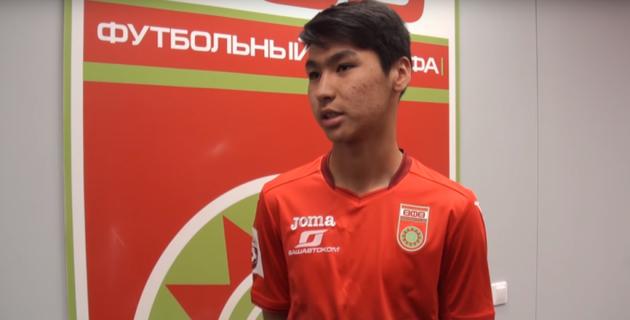 18-летний Сейдахмет вызван в национальную сборную Казахстана по футболу