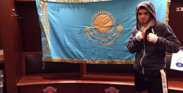 Казахстанец Руслан Мадиев одержал досрочную победу на профи-ринге в США