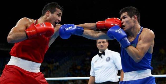 Узбекский соперник Елеусинова по финалу Олимпиады-2016 дебютировал в профи с досрочной победы