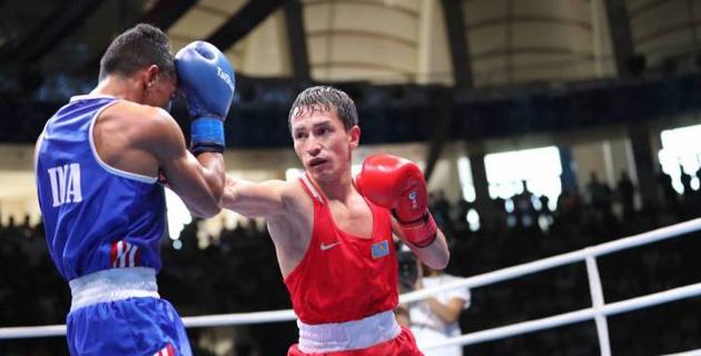 Бронзовый призер ЧМ-2017 Ержан проиграл боксеру из России и покинул турнир в Польше