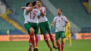 Сборная Болгарии по футболу определилась с составом на матч с Казахстаном