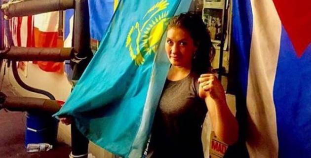 Казахстанская боксерша Аида Сатыбалдинова дебютировала в профи с ничьей