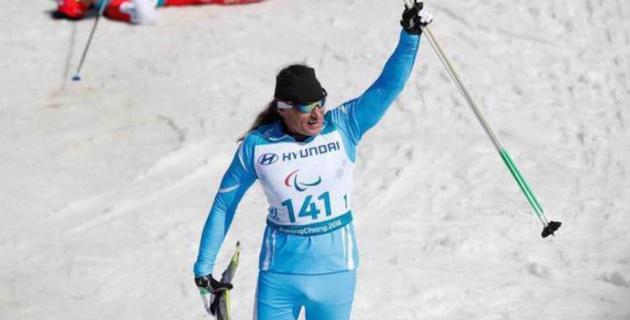 Первый в истории Казахстана чемпион зимней Паралимпиады стал шестым в командной эстафете