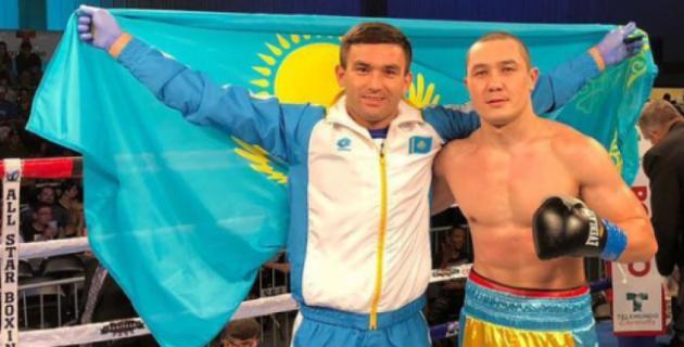 Казахстанский боксер Рысбек взлетел на 167 позиций в рейтинге после второй победы на профи-ринге