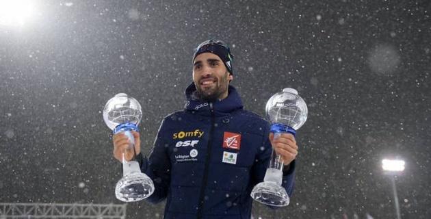 Фуркад в седьмой раз подряд выиграл Кубок мира и побил рекорд Бьерндалена