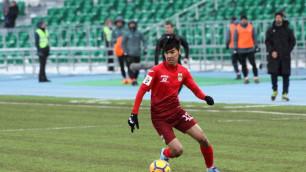 18-летний Сейдахмет забил гол в дебютном матче за сборную Казахстана по футболу