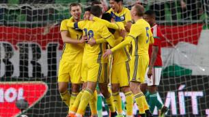 Видео голов Сейдахмета и Зайнутдинова в дебютном матче за сборную, или как Казахстан обыграл Венгрию