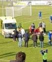 Хорватский футболист умер во время матча от удара мячом