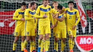 Букмекеры назвали наиболее вероятный счет матча сборной Казахстана по футболу с Болгарией