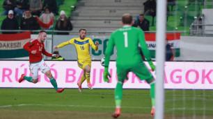 Сборная Казахстана проигрывает Болгарии после первого тайма товарищеского матча