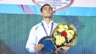 Перешедший в профи 20-летний молодежный чемпион мира из Казахстана подписал контракт с промоутером Лемье