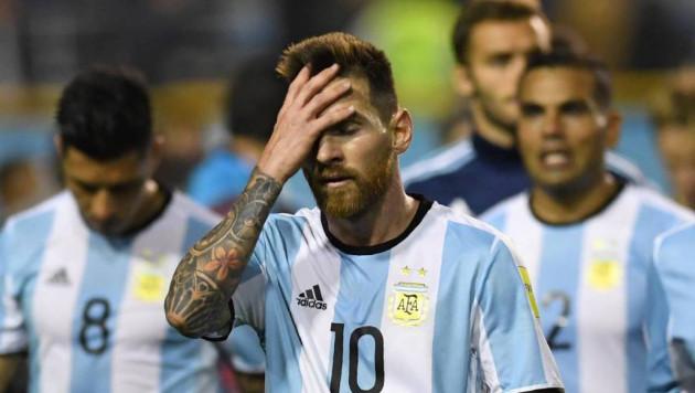 Месси зашел в раздевалку сборной Аргентины после разгрома от Испании и выступил с речью