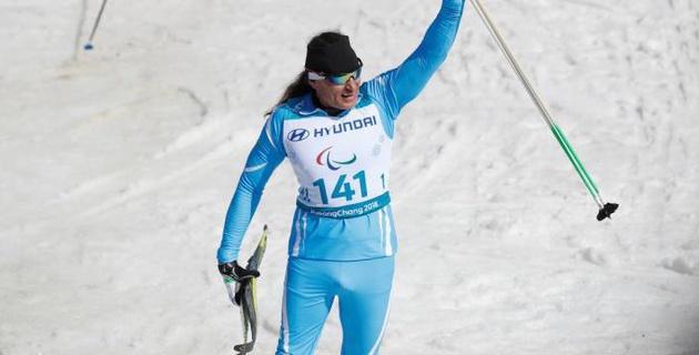 Первому чемпиону зимней Паралимпиады из Казахстана вручили квартиру, автомобиль и миллион тенге