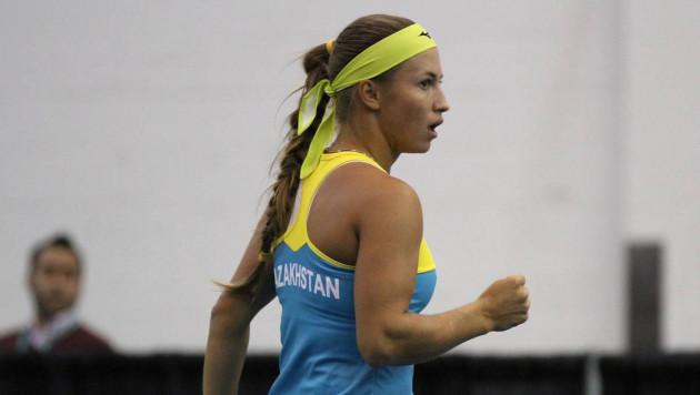 Казахстанская теннисистка перечислит призовые за награду Кубка Федерации пострадавшим от пожара в Кемерово