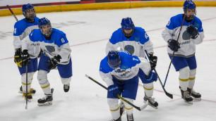 Юниорская сборная Казахстана по хоккею стартовала с победы на чемпионате мира