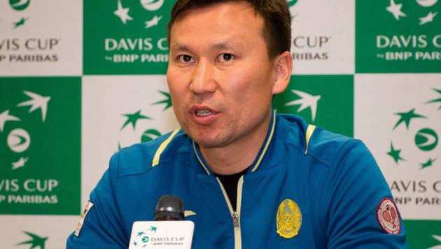 Капитан сборной Казахстана по теннису рассказал о победной стратегии на матч Кубка Дэвиса против Хорватии