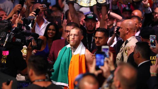 МакГрегор арестован после нападения на автобус с бойцами UFC в Нью-Йорке