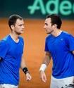 Казахстанские теннисисты упустили победу в парной встрече четвертьфинала Кубка Дэвиса