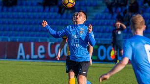 Казахстанский футболист назвал причины несостоявшегося трансфера в чемпионат из страны Ближнего Востока
