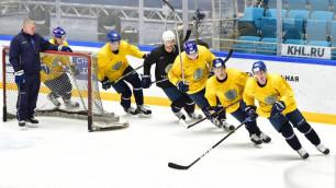 C Карлссоном и Даллмэном, но без Доуса и Бойда. Сборная Казахстана по хоккею назвала состав на ЧМ-2018
