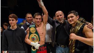 Казахстанец Батыр Джукембаев может провести бой за титулы WBC или WBO в Астане