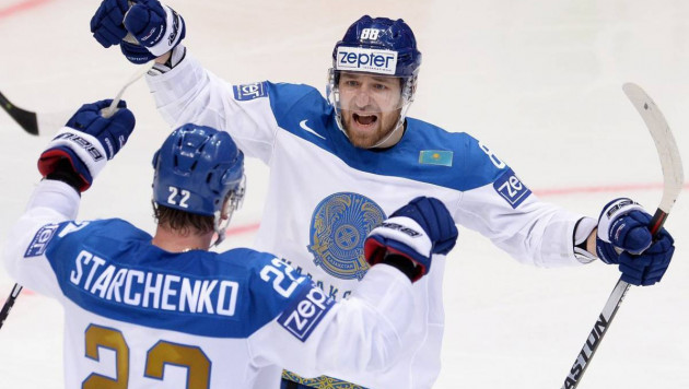 Сборная Казахстана по хоккею разгромила команду из элитного дивизиона перед чемпионатом мира