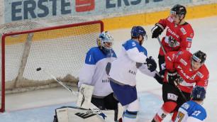 Видео матча, или как сборная Казахстана по хоккею разгромила команду из элитного дивизиона перед ЧМ