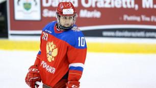Сын миллиардера оказался самым бесполезным хоккеистом сборной России