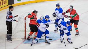 Прямая трансляция второго матча сборной Казахстана по хоккею на чемпионате мира