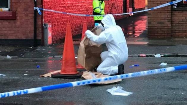 """Два фаната """"Ромы"""" арестованы по подозрению в покушении на убийство в Ливерпуле"""