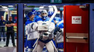 Сборная Казахстана по хоккею потерпела второе подряд поражение на чемпионате мира