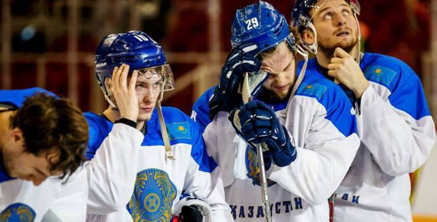 Сборная Казахстана по хоккею может вылететь во второй дивизион чемпионата мира