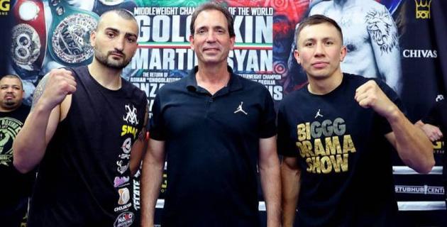 Леффлер и Санчес объявили о начале недели боя Головкина с Мартиросяном