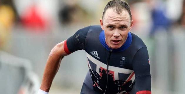 """Британский гонщик Крис Фрум упал во время изучения маршрута первого этапа """"Джиро д'Италия"""""""